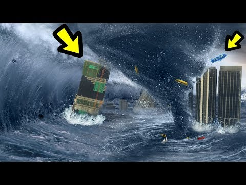 GTA 5 - The BIGGEST Tornado EVER!!