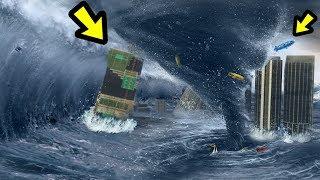 GTA 5 - The BIGGEST Tornado EVER!!