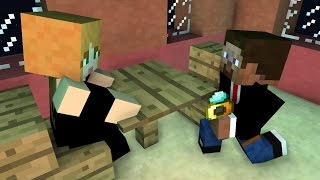 Alex and Steve Life and Love: Minecraft Animation (Marriage)