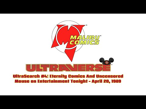 UltraSearch #4: Eternity Comics And The Uncensored Mouse On Entertainment Tonight - April 20, 1989