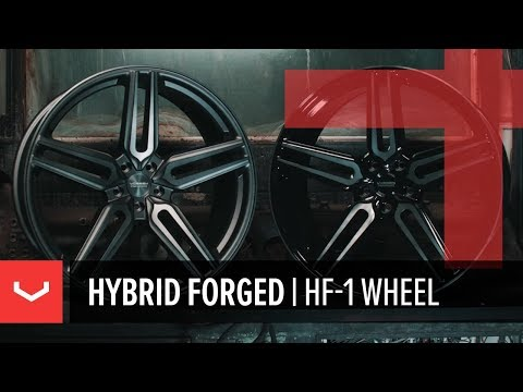 Vossen Hybrid Forged HF-1 Wheel | Advanced Flow Formed Technology