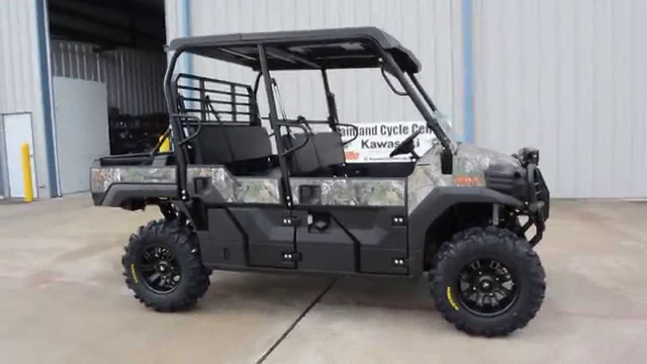 2015 mule pro fxt camo with accessories installed - youtube