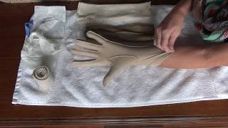 How to get rid of swelling in your hand using an Edema glove