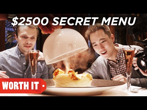 Thumbnail: $7 Secret Menu Vs. $2,500 Secret Menu
