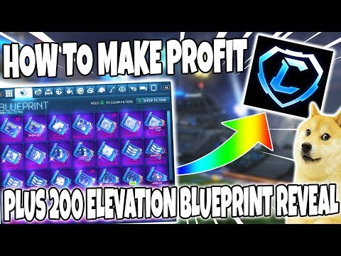 HOW TO BUY SELL TRADE AND MAKE EASY PROFIT WITH BLUEPRINTS AND CREDITS AND 200 ELEVATION REVEAL
