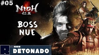 Boss Nue na Pedra Espiritual Repousa PT-BR #05 - Nioh Detonado