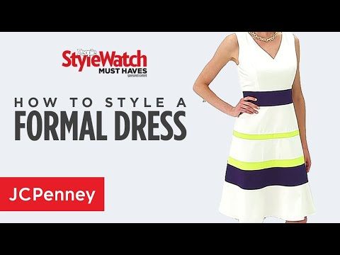how-to-wear-a-formal-dress-for-a-wedding-or-summer-event- -jcpenney
