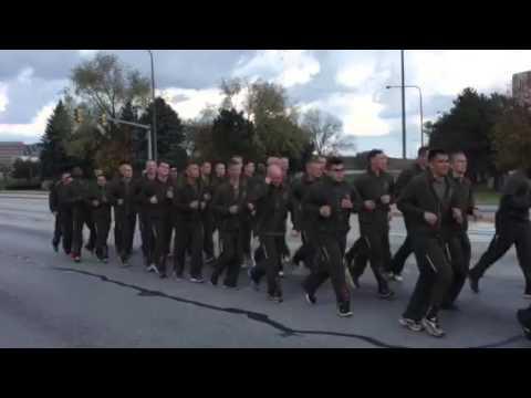 Marine Moto Run!! Yut!