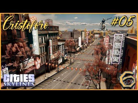 Cities Skylines: Cristoforo #05: Chinatown! |