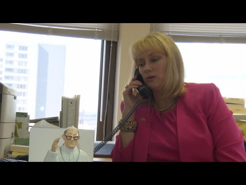 The Woman Behind Pope Francis' U.S. Visit