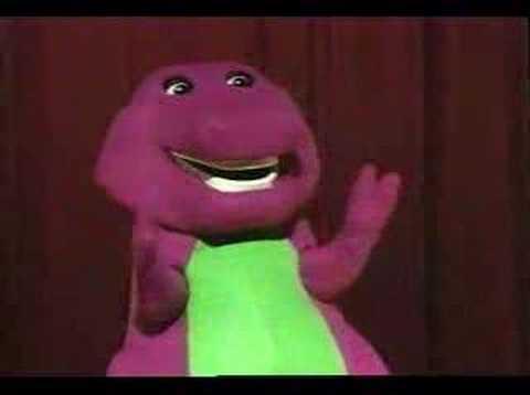 Barney In Concert YouTube - Barney concert part 1
