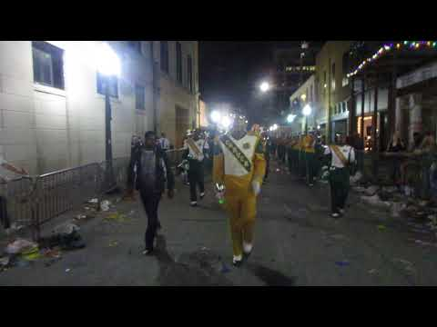 Carver Montgomery Wolverines Marching Band (2018) Mardi Gras Parade Mobile Alabama