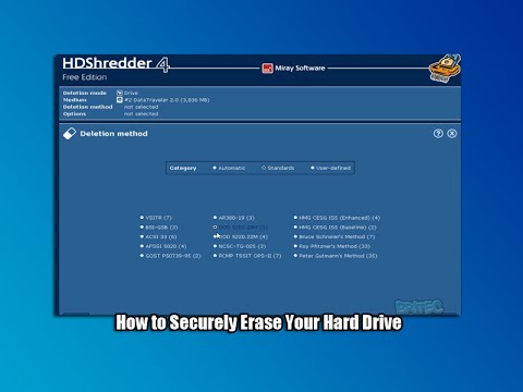 How to Securely Erase Your Hard Drive