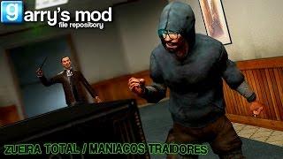 Garry's Mod - Murder - Zueira Total / Maníacos Traidores [PT-BR]