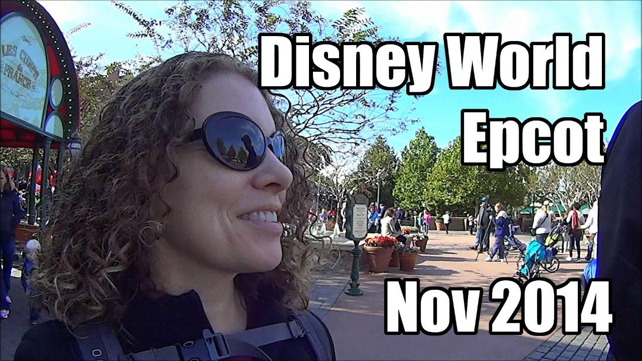 disney world vlog day 5 part 3 november 2014 epcot