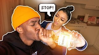 COMING HOME DRUNK PRANK ON MY CRUSH! *I ALMOST THREW UP*