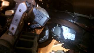 2007 Nissan Sentra Dashboard Removal - Blower Motor replaced 07-12