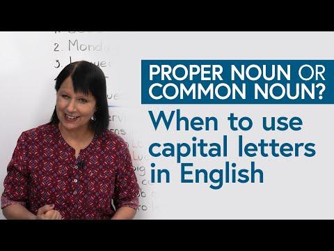 Improve Your Writing: Common & Proper Nouns