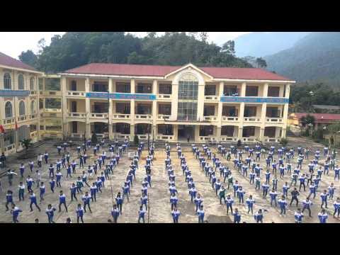 Bài thể dục giữa giờ mới: Phong cách Võ Đang- của trường THPT Tân Quang Bắc Quang Hà Giang