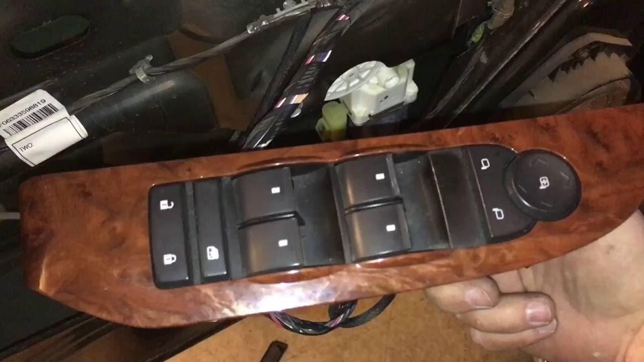 Silverado Or Sierra Window Switch Fix
