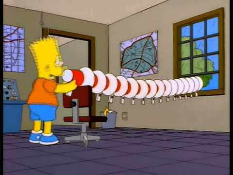 The Simpsons - Bart's Megaphone Testing