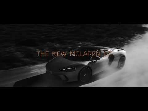 El espectacular McLaren GT se deja ver en la carretera