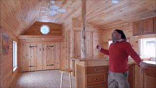 Build 14x40 Tiny House With Huge Kitchen Full Bath Walk In Closet Diy Or Fully Assembled Available