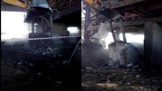 Mechanised Furnace Demolition