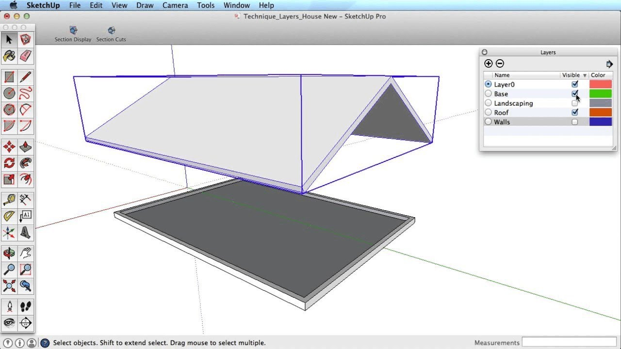 sketchup training series layers youtube rh youtube com Google SketchUp Landscape Google SketchUp Pro