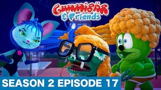 """Gummy Bear Show S2 E17 """"Hairy Harry"""" Gummibär And Friends"""