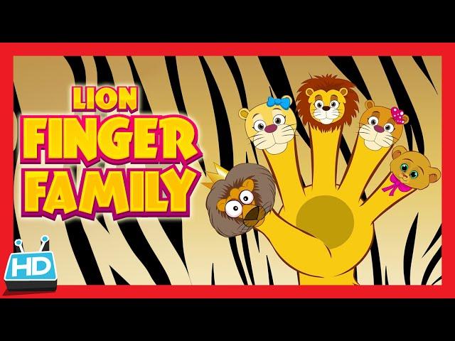 """Lion """"Finger Family Song"""""""