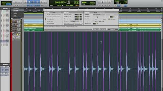 Pro Tools Editing Tutorial - How To Prepare The Session For Mixing - Drums Part 1