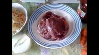 Очень вкусная  - Тушеная Капуста с Мясом в мультиварке! Вкуснейший рецепт!