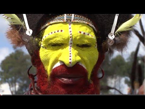 "Papua New Guinea "" Mount Hagen Cultural Show"""