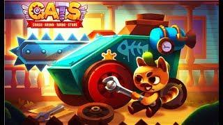 С A T S #6 Мультик игра про котиков конструкторов боевых машин Мульт ИГРА #Мобильные игры