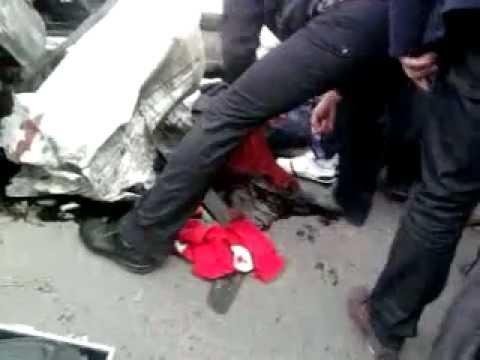 Grave accident de voiture  à blida  en Algérie