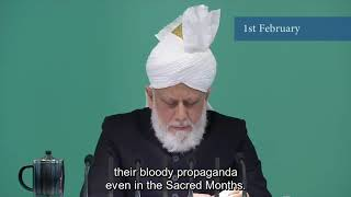 Excerpts of the Friday Sermon