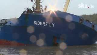 Zwei Schiffe auf dem Nord-Ostsee-Kanal kollidiert