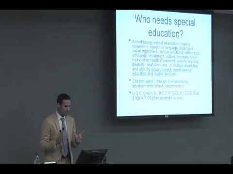 """GA Special Education Law and Kids in Care -- An Overview"""