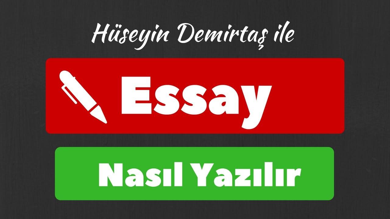 akademik essay nasil yazilir