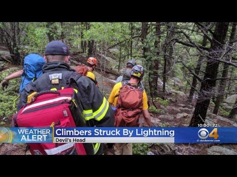 Lightning Strikes Climbers At Devil's Head