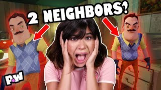 Escape from Hello Neighbor In Real Life (Mystery Box Fort Escape Room Challenge)