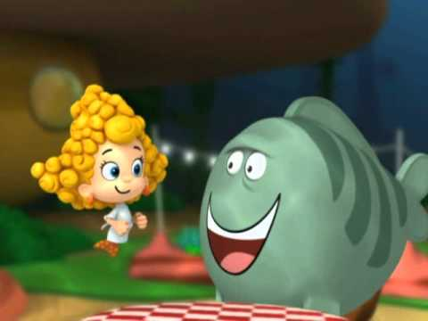 Bubble guppies grumpy fish youtube for Bubble guppies fish