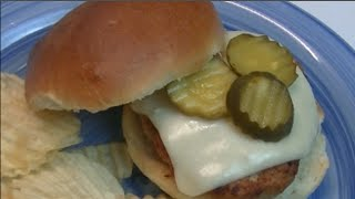 Iron Skillet Chicken Burgers Recipe ~ Noreen