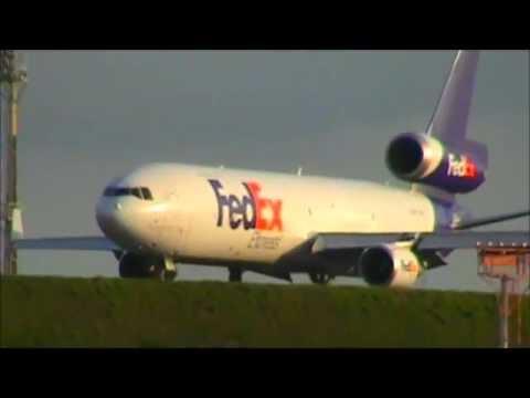Decolagem em Campinas Viracopos MD11 FedEX Express