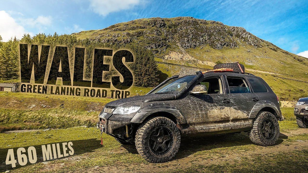 TOUAREG ON TOUR! Wales Green Laning Road Trip!