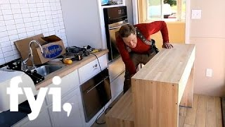 Tiny House Nation: Zack's Dining Table Design | Fyi