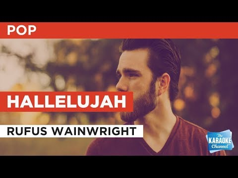 Hallelujah in the style of Rufus Wainwright | Karaoke with Lyrics