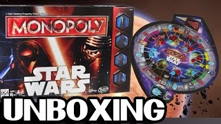 STAR WARS | MONOPOLY | UNBOXING