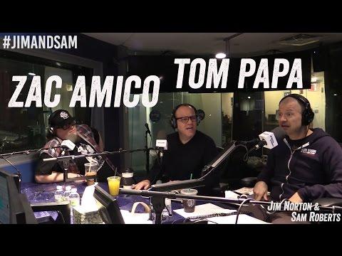 Zac Amico (w/ Tom Papa) - Roasts, BDSM, Penis Piercings - Jim Norton & Sam Roberts